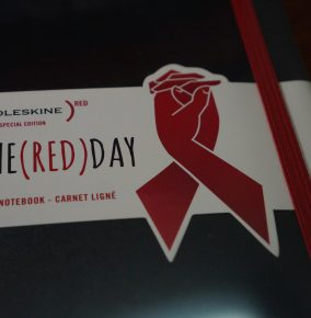 A Moleskine Notebook To Help Fight Against HIV and AIDS