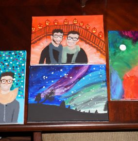 My Impulsive Painting-Spree Over Winter Break