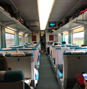 Taking a Train to the Castilla-La Mancha Region of Spain