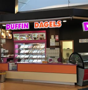 A Dunkin' Donuts Ripoff Called Duffin Dagels Seriously Exists
