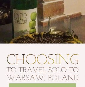 Making Plans to Travel Solo to Warsaw, Poland